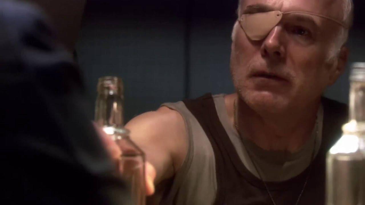 Taisteluplaneetta Galactican Michael Hogan loukkaantui pahasti
